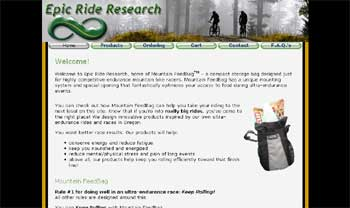 Epic Ride Research Homepage image